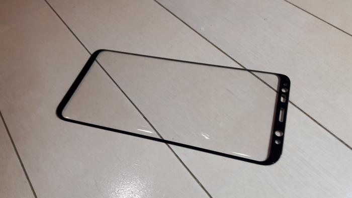 Galaxy S8用ガラスフィルム