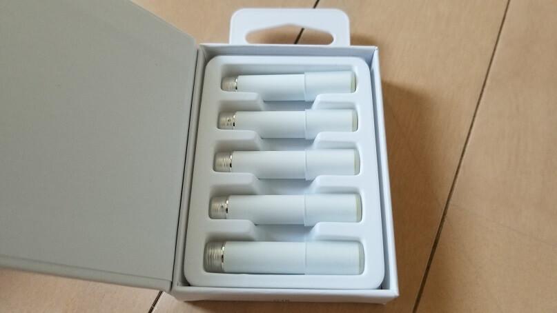 ビタフル充電式のカートリッジ5本セット