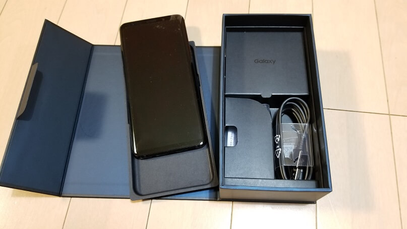 Galaxy S9+の付属品
