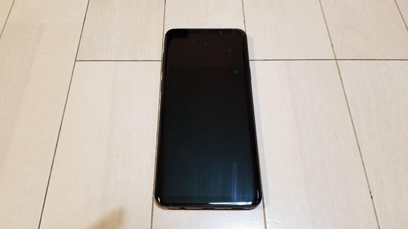 Galaxy S9+の外観
