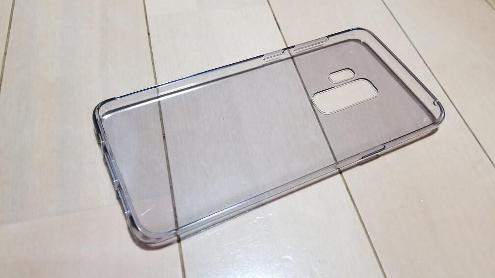 Galaxy S9のクリアケース