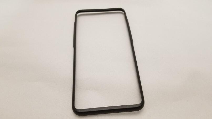 Samsung Galaxy S9 Plus用強化ガラスフィルム ガイドツール