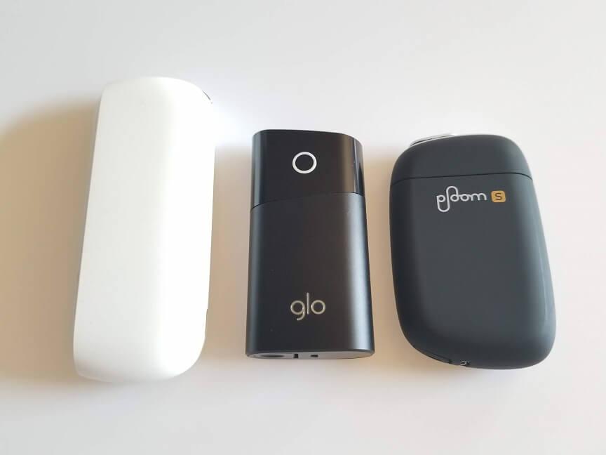 加熱式タバコ3種類