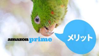 amazonプライムのメリット