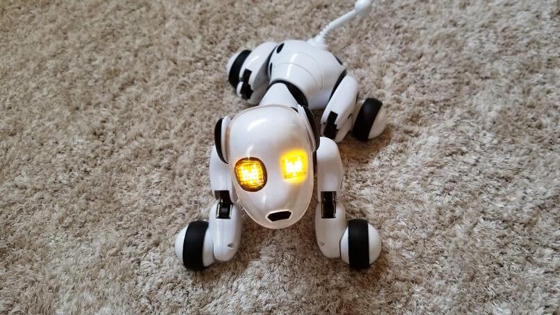 犬型ロボットDIMEI 9007Aの使い方