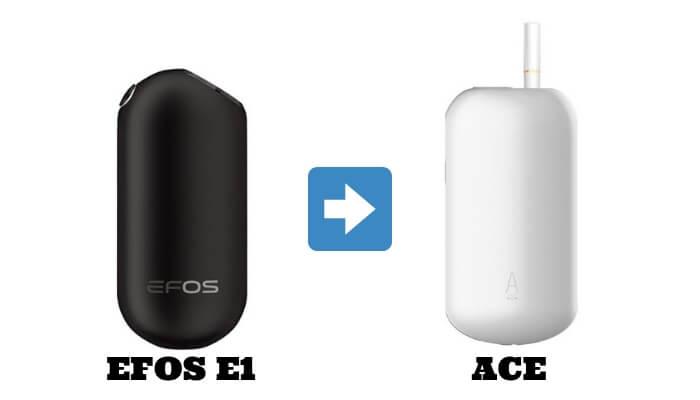 EFOS E1の後継機ACE(エース)