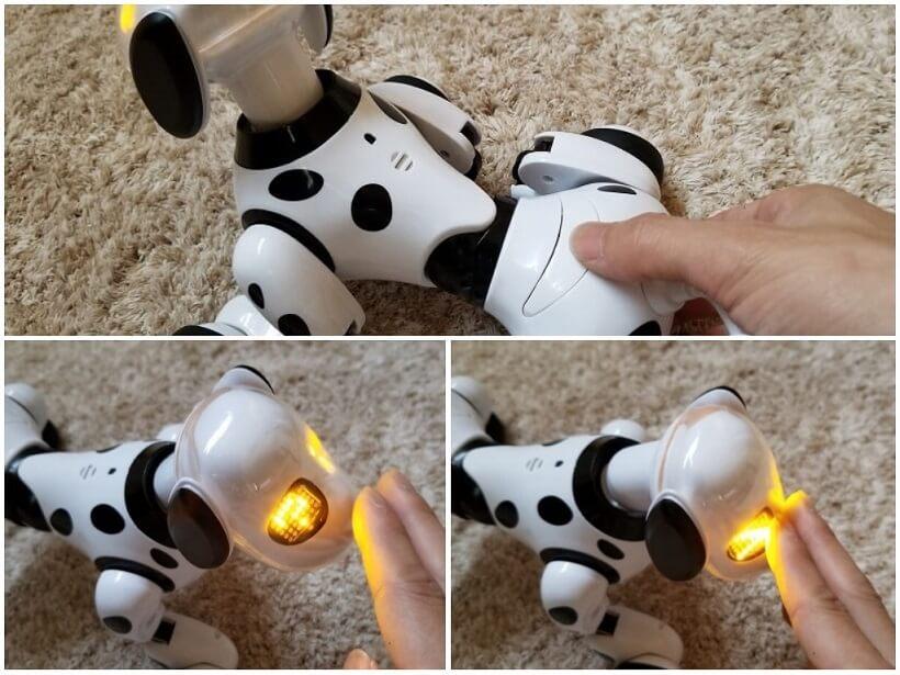 犬型ロボットDIMEI 9007Aの操作