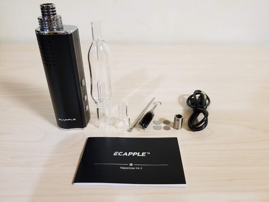 Ecapple iv-1 (エカップル アイブイワン) の付属品