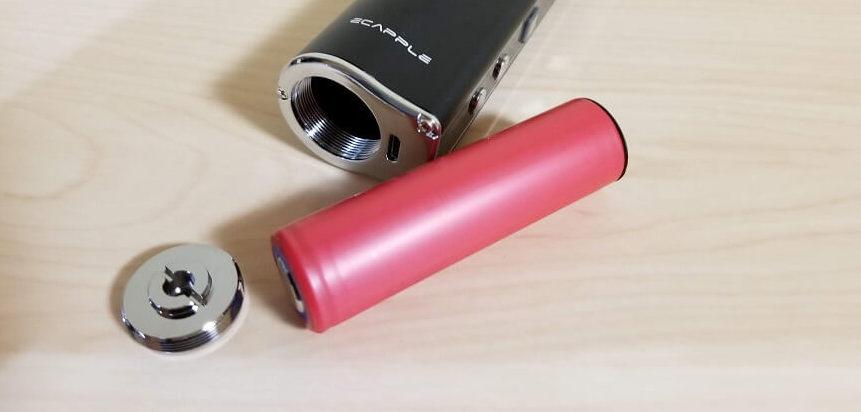 ecapple iV-1のバッテリー