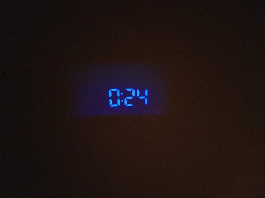 MPOWデジタル時計/目覚まし時計の投影機能