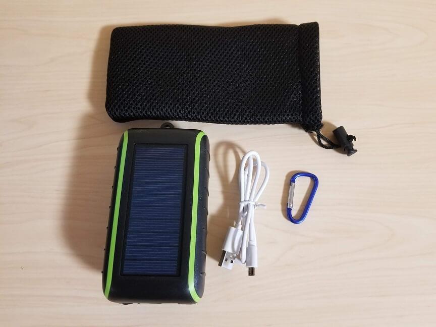 Chargi-Q mini(チャージックミニ)の付属品