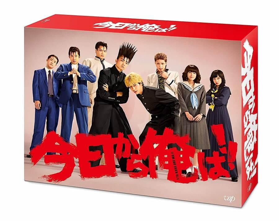 今日から俺は!!Bru-ray/DVD BOX発売決定
