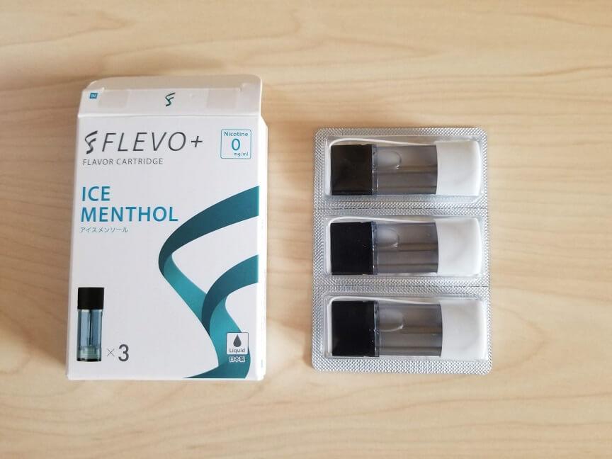 FLEVO+(フレヴォプラス)の専用カートリッジ