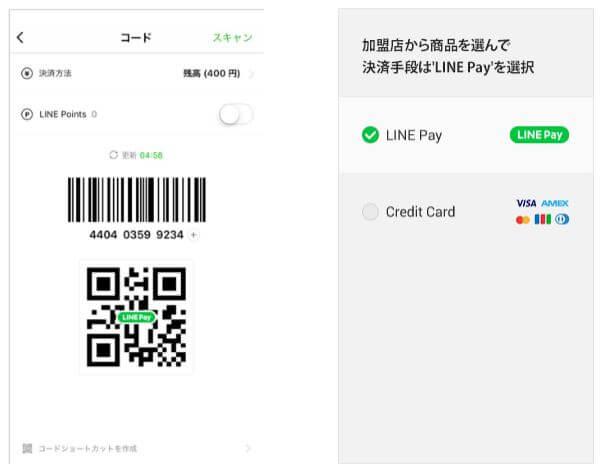 LINE Payの決算方法