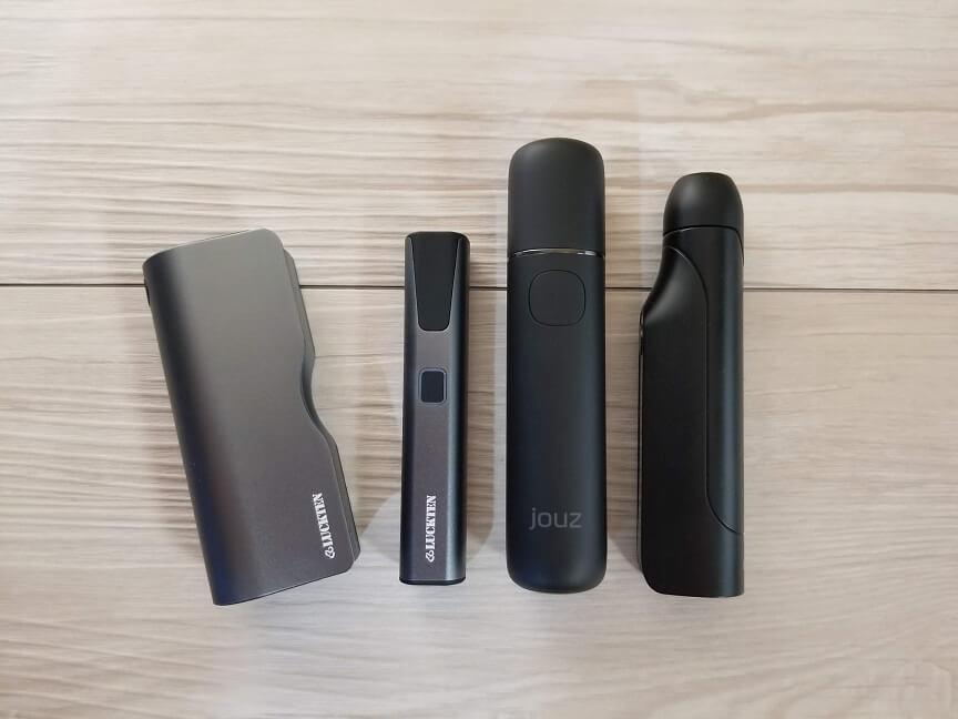 Luckten Pro2と他製品の比較