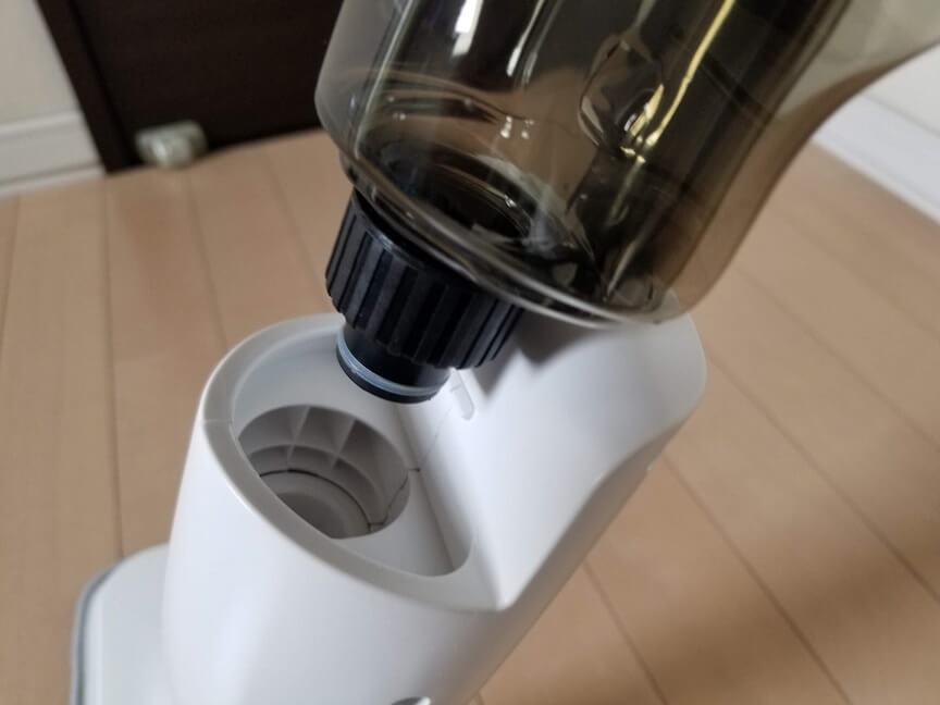 Xiaomi Deermaウォータースプレーモップの水タンク装着