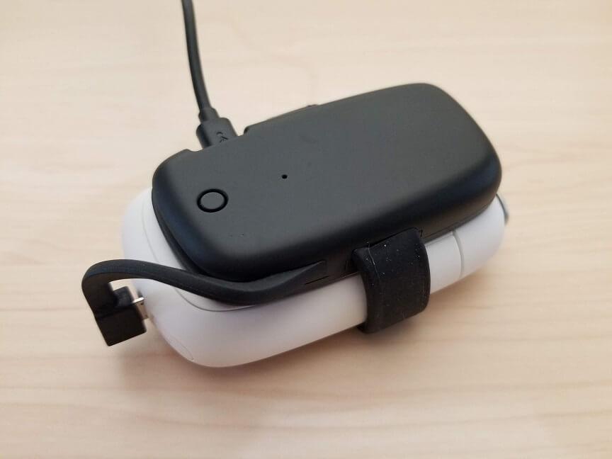 プルームS専用モバイルバッテリーの使い方