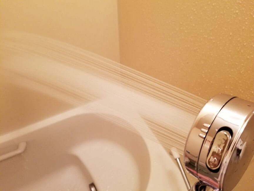topbasicの3D節水シャワーヘッドのモード変更