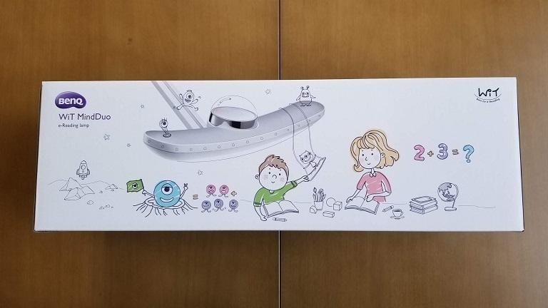 親子デスクライト BenQ Wit MindDuo LED デスクライトのレビュー