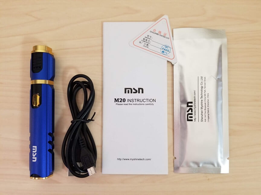 MSN M20/アイアンマンの付属品