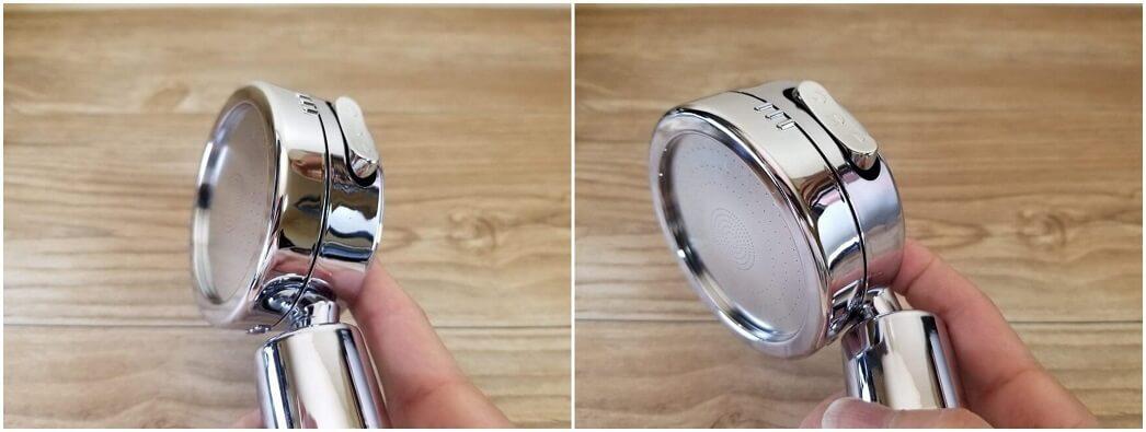 topbasicの3D節水シャワーヘッド
