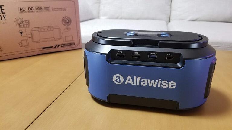 Alfawise S420レビュー