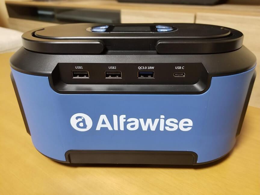 Alfawise S420の外観