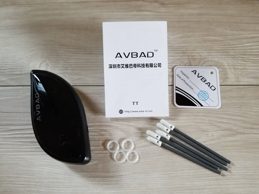 IQOS互換機AVBAD TTの付属品