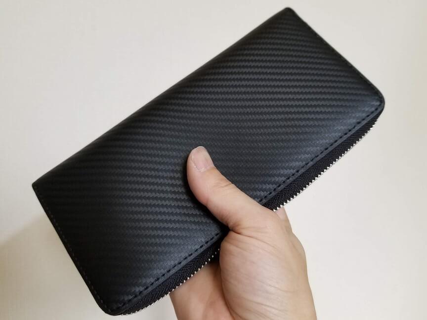 ZILLMAN(ジルマン)カーボンレザー長財布の特徴