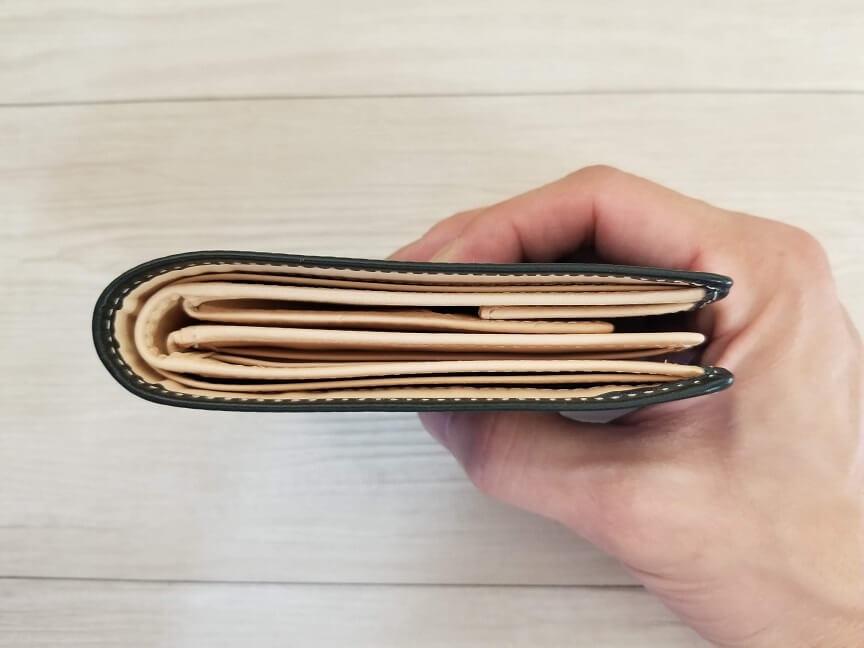 財布の暑さ
