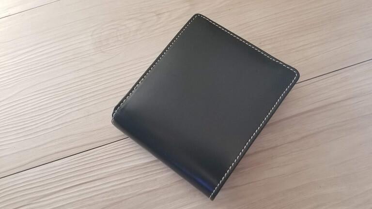 ブライドルレザーの2つ折り財布