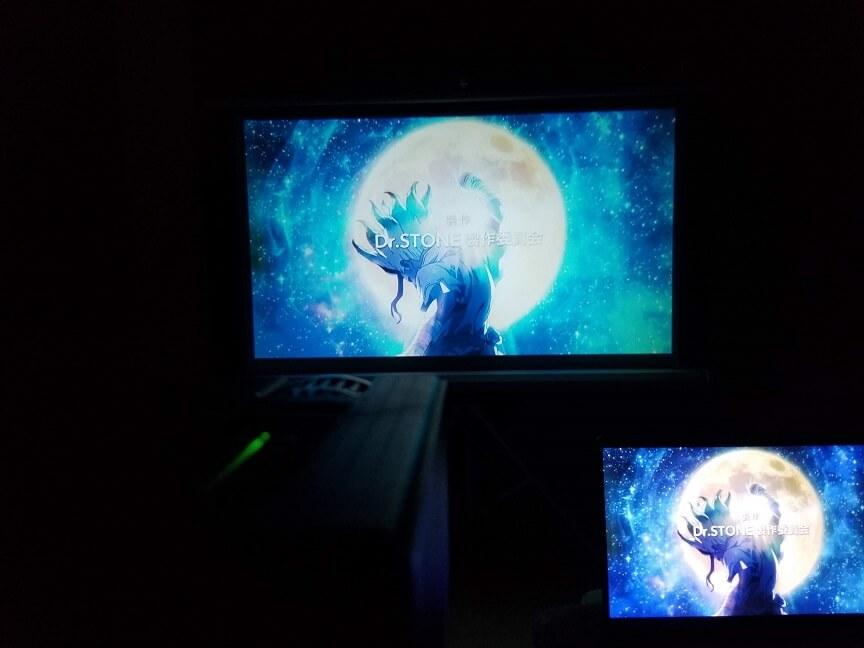 Blitzwolf®BW-VP1 LCDプロジェクター 画質