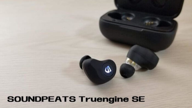 SOUNDPEATS Truengine SE レビュー