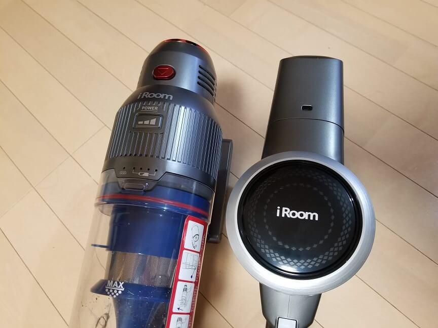 iROOM RS1とD10の違い