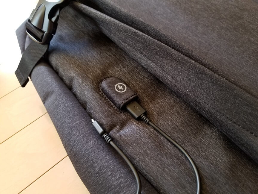 FED PCリュック USBポート