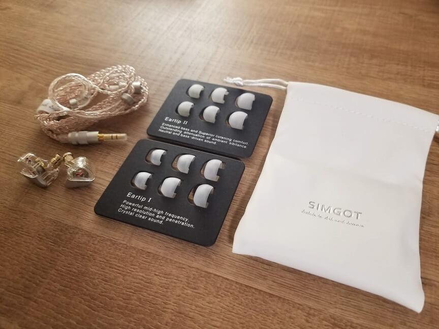 SIMGOT MT3 PROの付属品