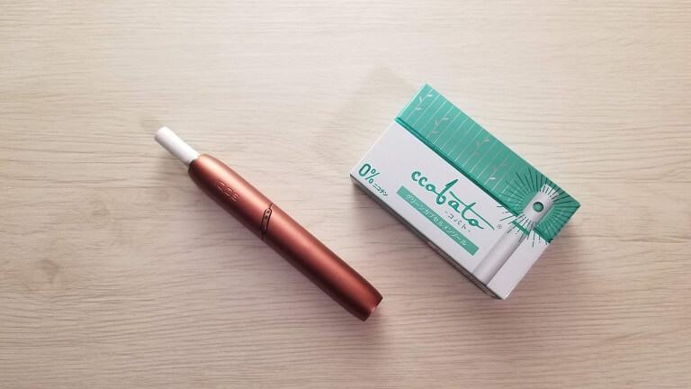 ccobato(コバト)を吸うデバイス
