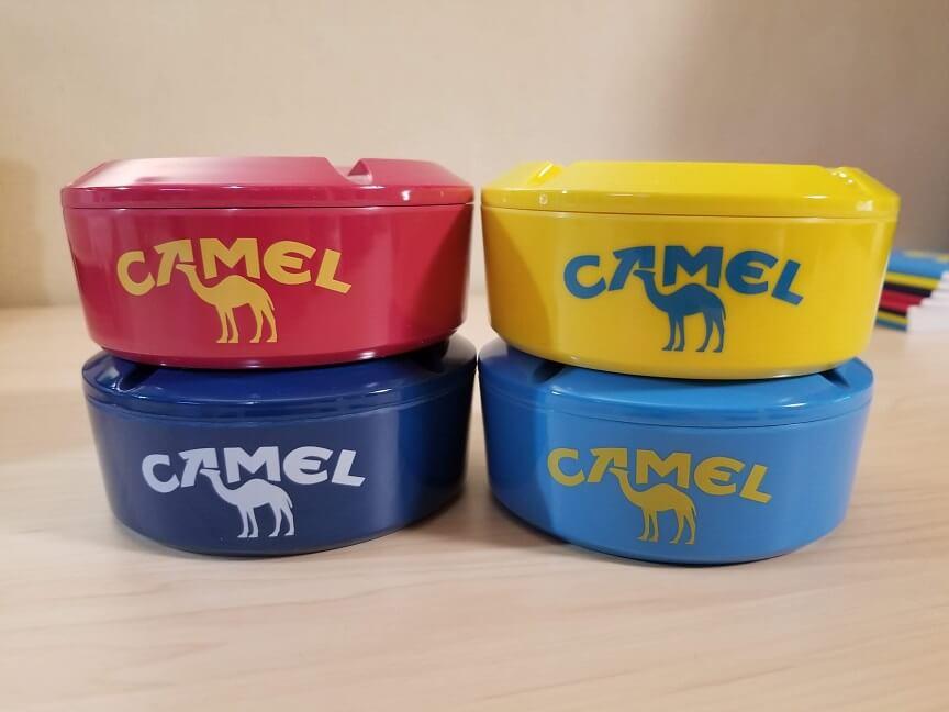 CAMELオリジナル灰皿