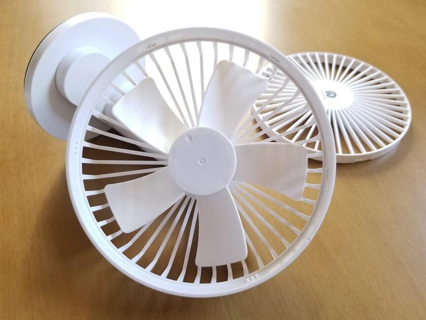 Dreamegg卓上扇風機DG-F04の機能