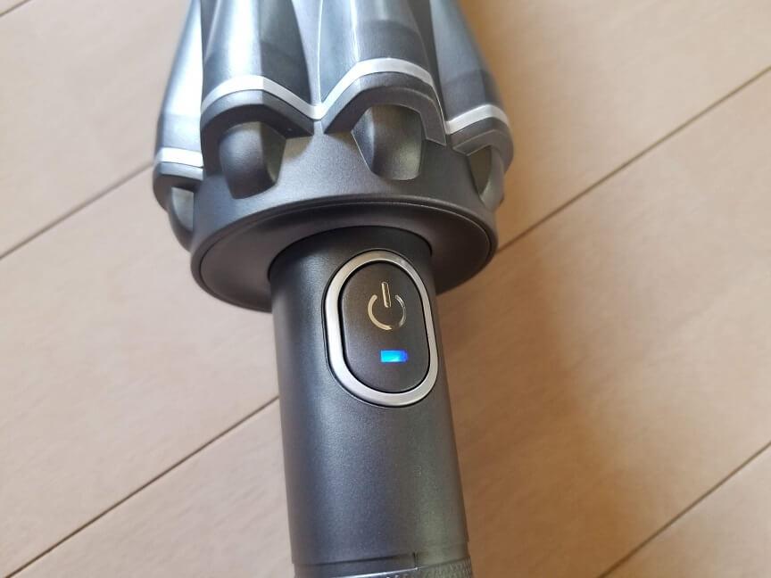 MOOSOOの13000Paコードレス掃除機の外観