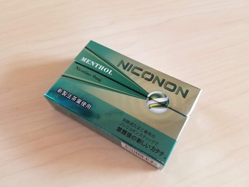 NICONON(ニコノン)メンソールの感想