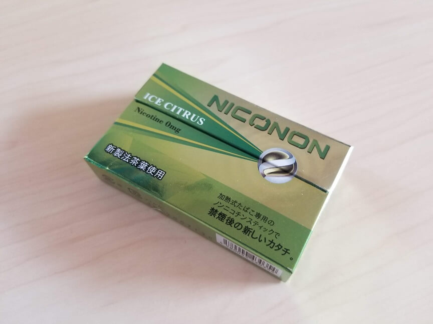 NICONON(ニコノン)アイスシトラスの感想