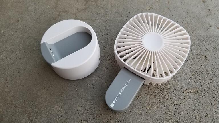 2in1の卓上扇風機