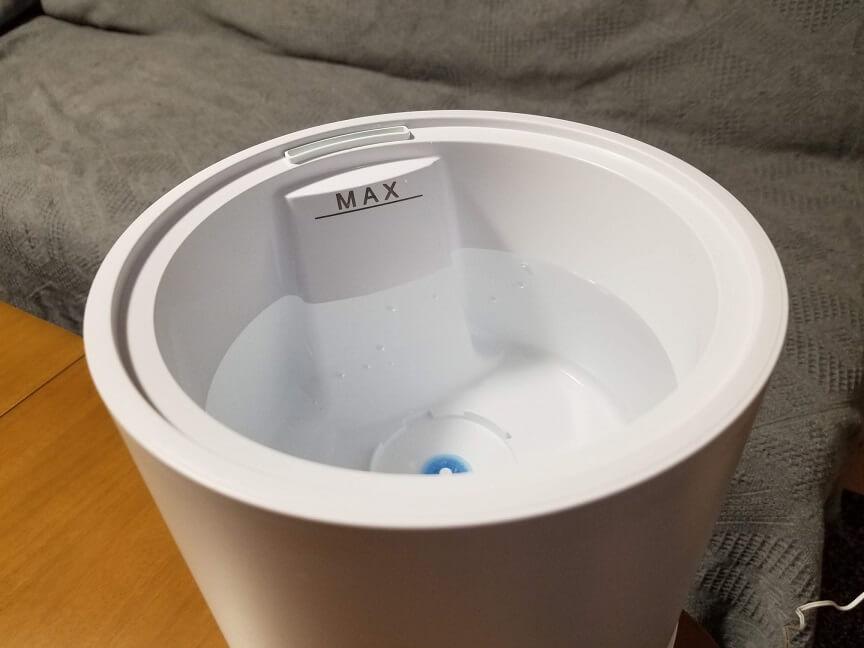 Milin 加湿除菌器の外観