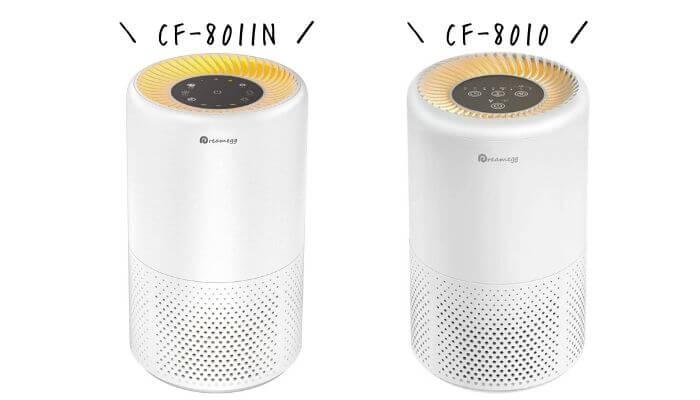 Dreamegg CF-8011NとCF-8010の比較