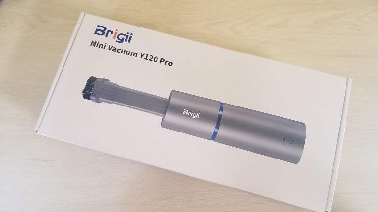 brigii Y120 proのパッケージ