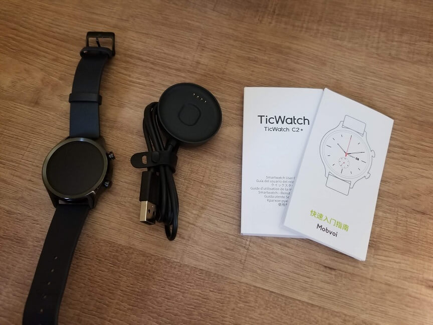 TicWatch C2+の付属品