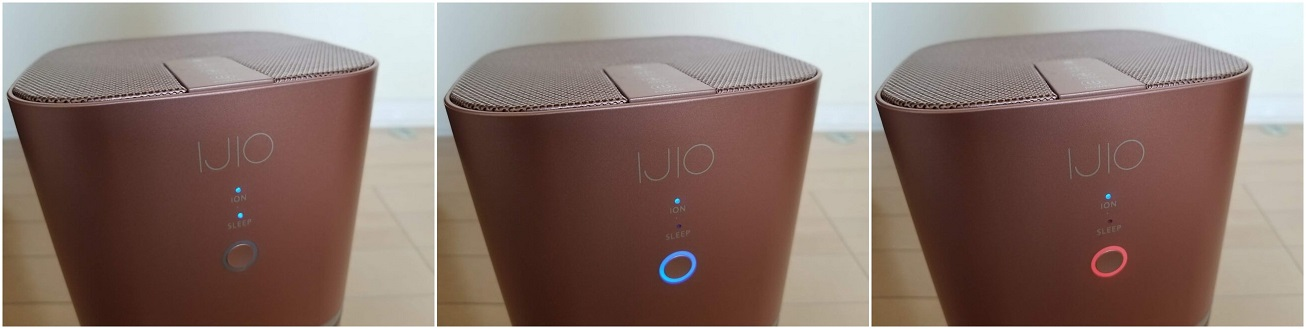 IJIO H1空気清浄機の使い方
