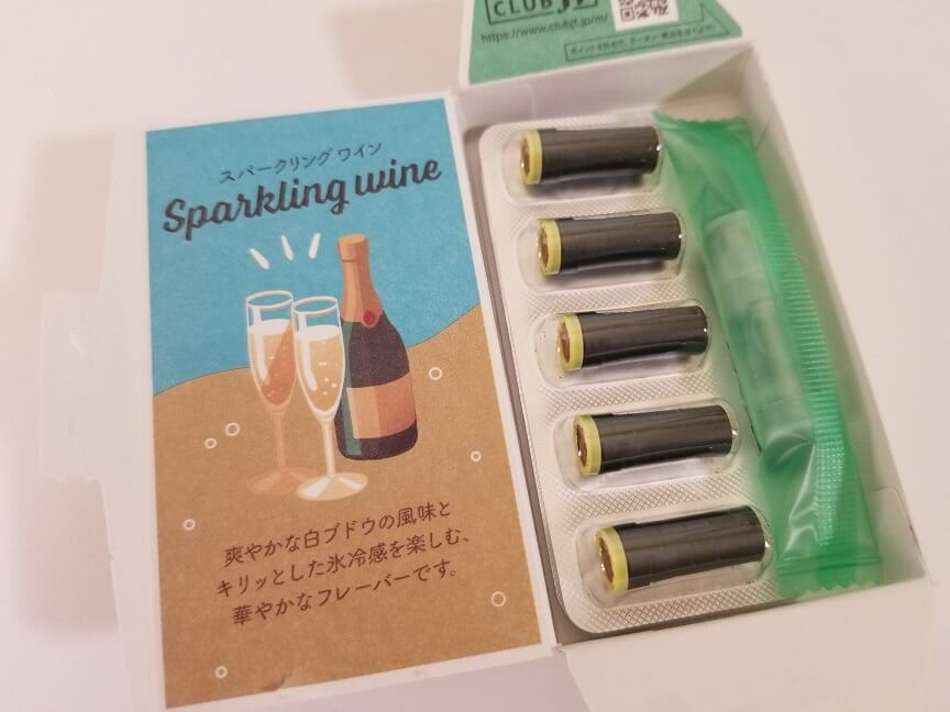 メビウス・エナジー・スパークリングワイン・ミント