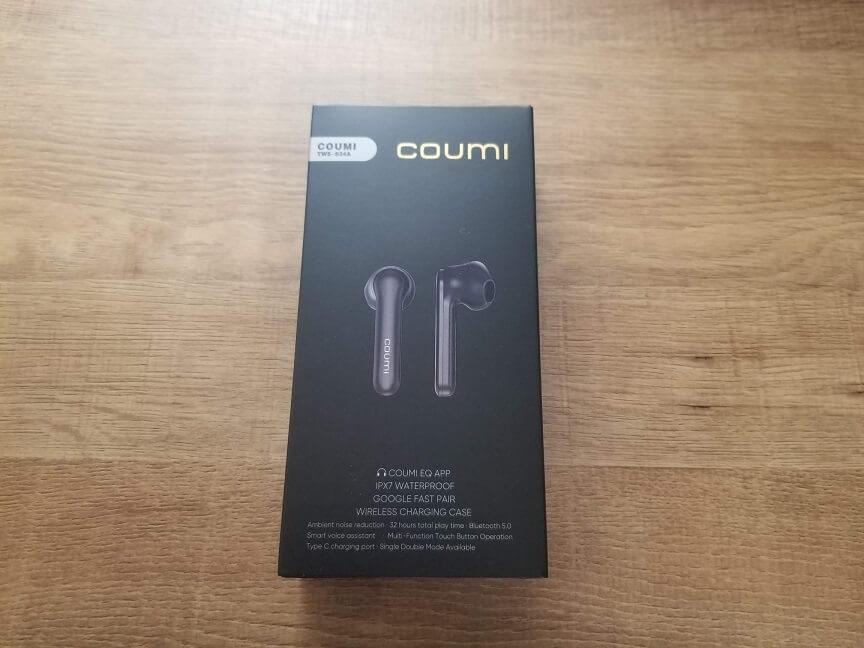 COUMI TWS-834Aのパッケージ